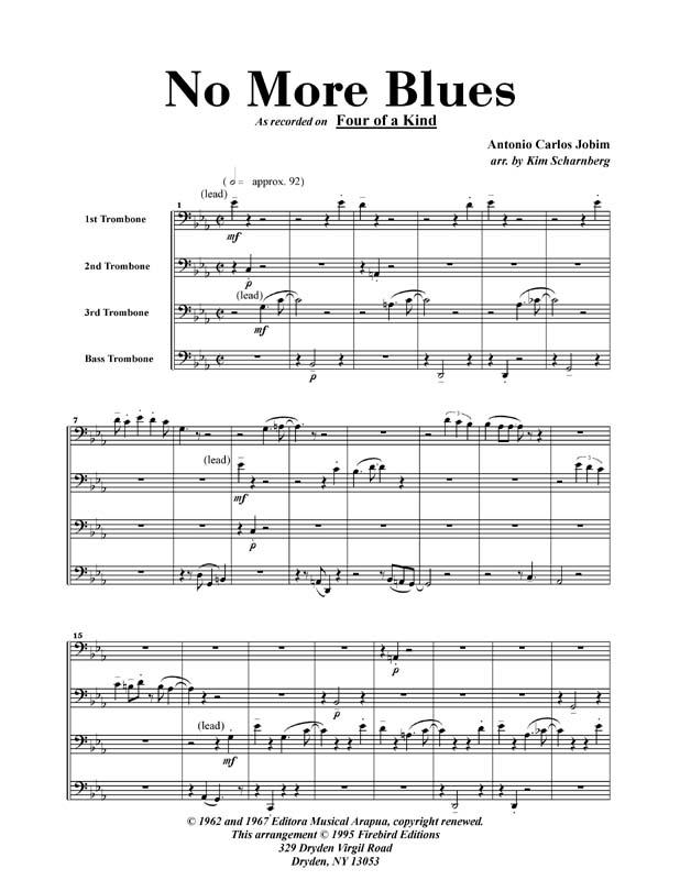 No More Blues (PDF)